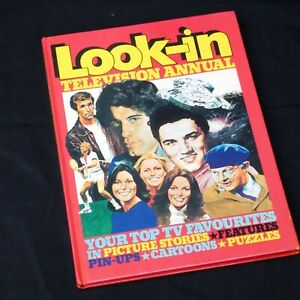 LOOK-IN-Magazine-Annual-1979-Hardback-Charlies-Angels-Boney-M-Joanna-Lumley