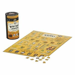 Ridley-039-s-Games-Whisky-Lover-039-s-500-Piece-Activity-Jigsaw-Puzzle