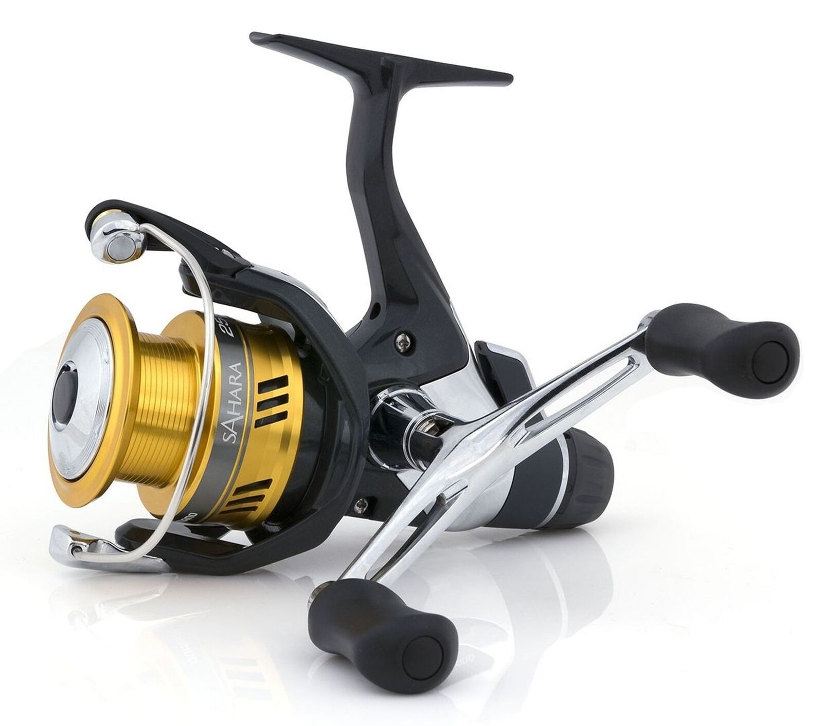 Shimano Sahara  2500 DH R, Rear Drag Spinning Reel Double Handle, SH2500DHR  get the latest