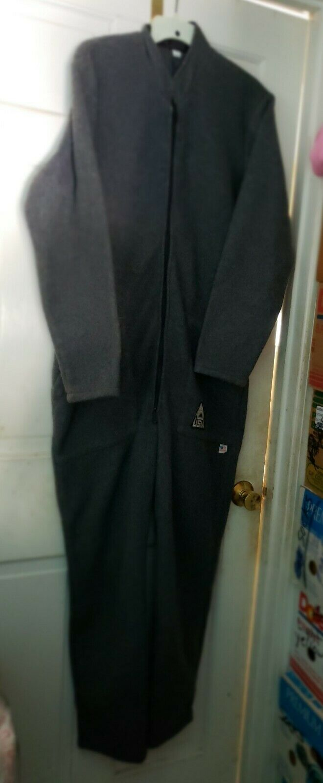 USIA Exotherm 1 Fleece Thermal DrySuit  Made  in USA See Measurements VGC  official quality