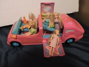 POLLY-POCKET-PARTY-VAN-WITH-5-DOLLS-AND-ACCESSORIES