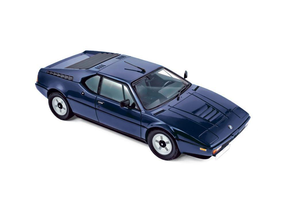 NOREV COLLECTORS 1 18 AUTO IN METALLO BMW M1 1980 bleu   ART 183224
