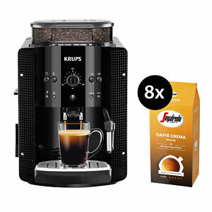 Krups-EA8108-Kaffeevollautomat-Kaffeemaschine-8x-1kg-Segafredo-Caffe-Crema