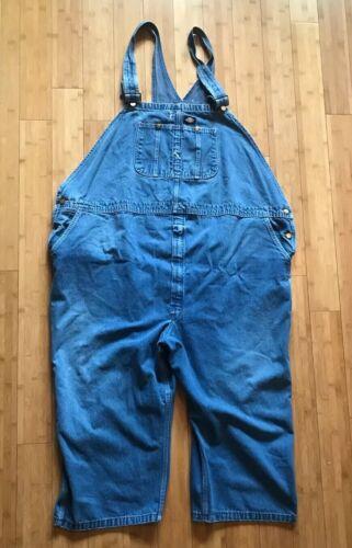 Men's Blue Denim Dickies Overalls size 60x30