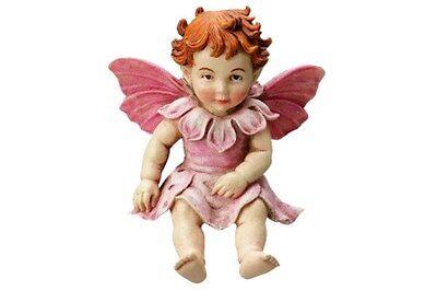 Cicely Mary Barker Flower Fairy  Garden Miniature ~ Baby Apple Blossom ~ NEW