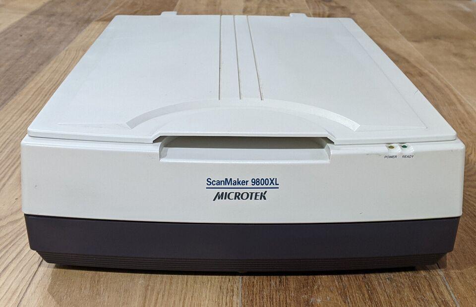 Scanner A3, Microtek, 9800XL