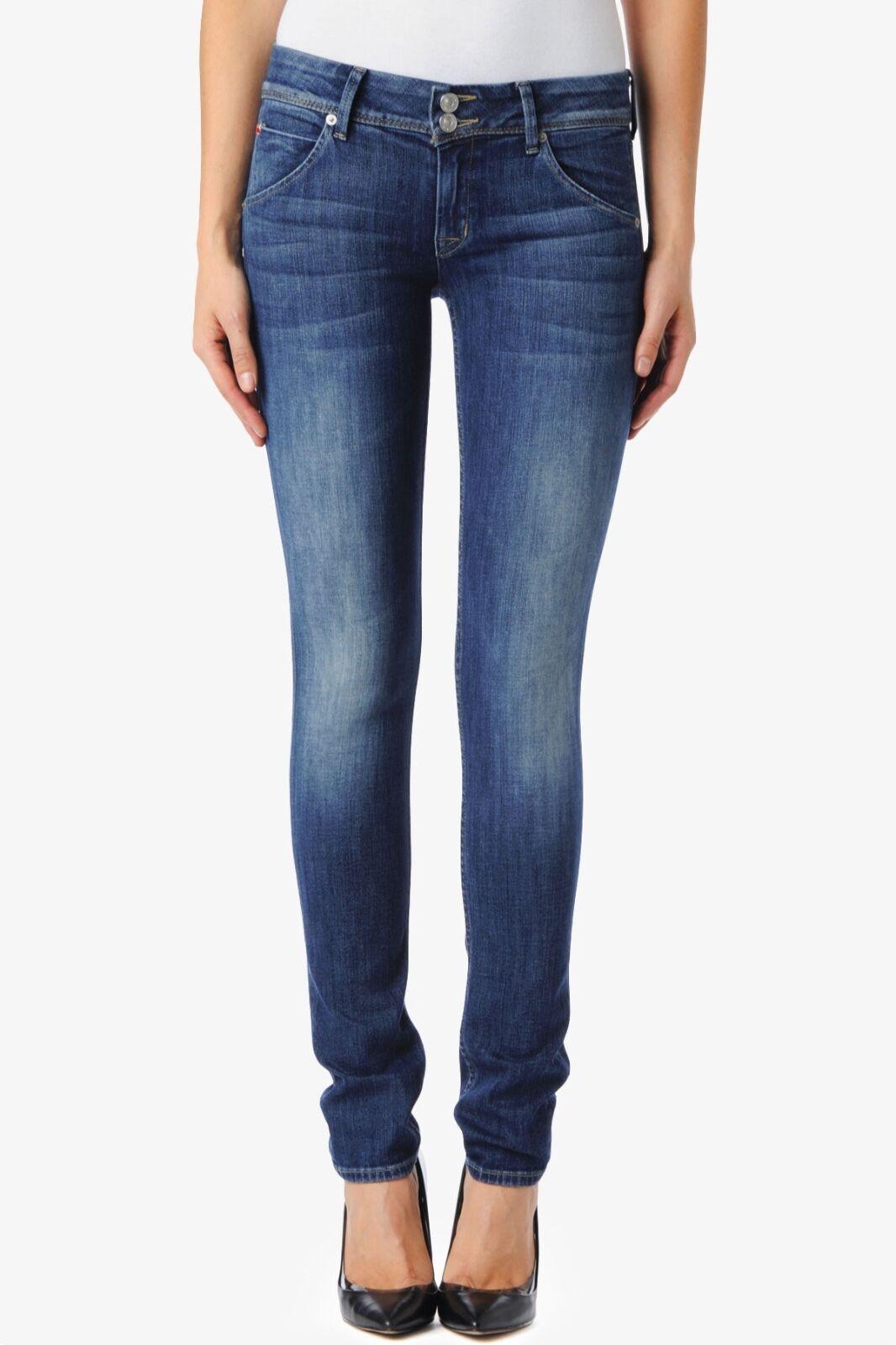 Hudson Collin Faded Skinny Jeans 24 NWT W422LDES Super Vixen