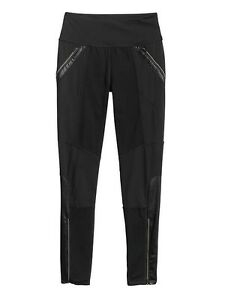 b43109e1caaa7 Image is loading Athleta-Ponte-Luxe-Legging-Black-Pants-98-349413-