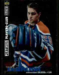 1995-96-Collector-039-s-Choice-Platinum-Players-Club-Louie-DeBrusk-87