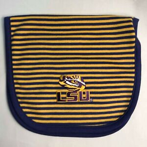 LSU-Creative-Knitwear-Purple-and-Gold-Stripe-Baby-Burp-Cloth