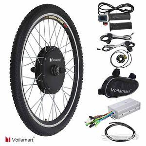 26 vorderrad 48v 1000w e bike conversion kit ebike. Black Bedroom Furniture Sets. Home Design Ideas
