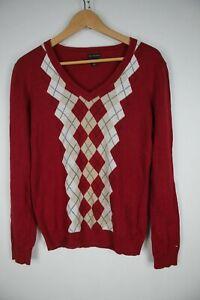 TOMMY-HILFIGER-Maglione-Cardigan-Sweater-Jumper-Pullover-Tg-M-Uomo-Man