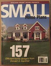 Small Home Plans Efficient Design Donald Gardner April May 2015 FREE SHIPPING
