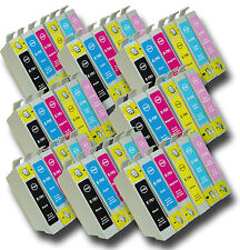 48 T0791-T0796 'Owl' Ink Cartridges Compatible Non-OEM Epson Stylus PX830FWD
