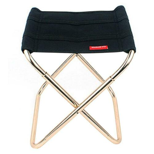 Folding Chair Portable Lightweight Camping Outdoor Stool Beach Fishing Seat