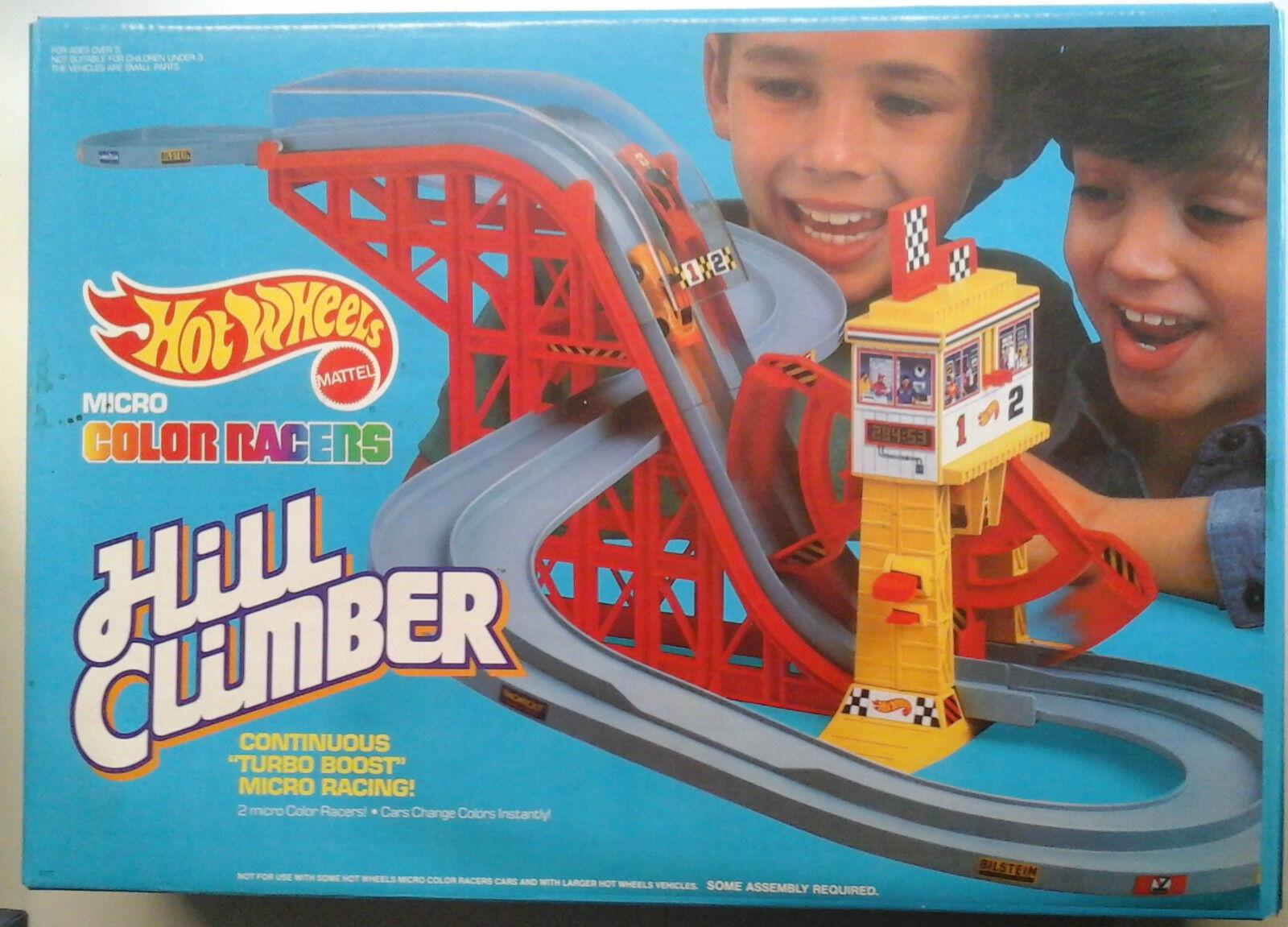 Hot wheels - mikro - farbe rennfahrer - hill bergsteiger - mattel - vintage - 1989