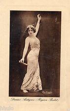 BE046 Carte Photo vintage card RPPC Femme Danses Antiques Regina Badet danseuse