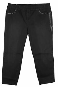 Sheego Jeggings Slim Fit Stretch Jeans Women's Black Size 56 58