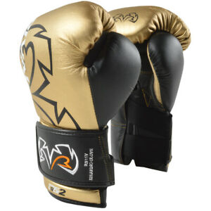 Rival-RS11V-Evolution-Hook-and-Loop-Sparring-Boxing-Gloves-Gold