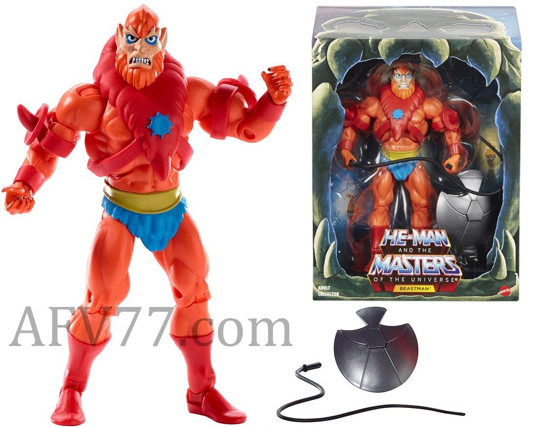 Masters  of the Universe MOTU classeeics Filmation BEASTuomo 2.0 ---Read Listing---  a prezzi accessibili
