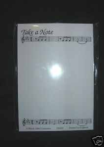 """BLOC NOTES THEME MUSIQUE """"Take a note"""" - 50 feuilles Dc7R495L-08152929-693226903"""