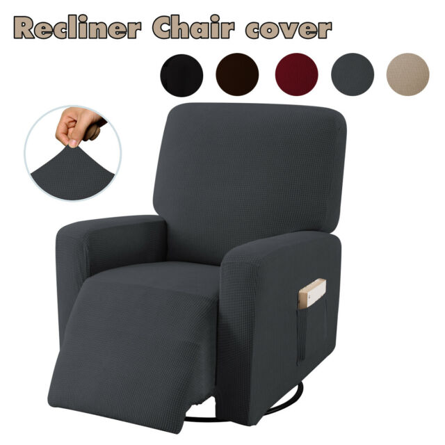 Stretch Recliner Slipcover Fit Furniture Lazy Boy Sofa Chair Arm Cover Protector