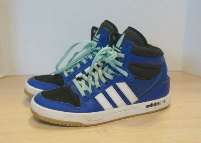 Adidas Court Attitude Mens G99444 True Blue Athletic Shoes Mid Sneakers Size 7.5