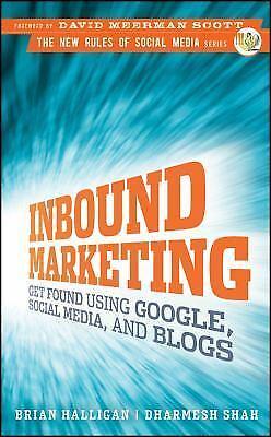 New Rules Social Media Ser.: Inbound Marketing : Get Found Using Google, Social 9780470499313 | eBay