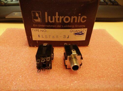 SOCKET CHASSIS to JIS C 6560 JC63J3E 2x LUMBERG KLBPSS-3J 6.35 6.35mm JACK