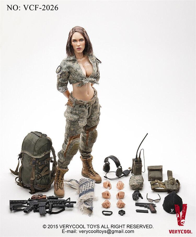 clásico atemporal Verycool VCF2026 1 6 ACU CAMO Mujer Mujer Mujer Shooter Hembra Modelo Figura De Acción Nueva  tiendas minoristas