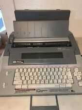Smith Corona Pwp 145 Portable Word Processor Electronic Typewriter Withdisk Drive