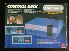 Nintendo Nes Boxed Mattel Console Two Pads Psu And From Lead Nice