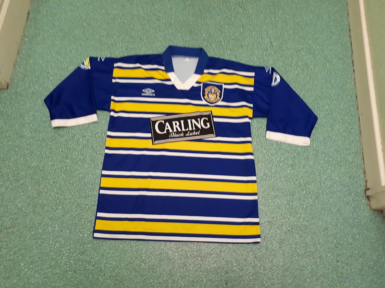 Vintage Leeds RLFC Large Mens Rugby League Shirt
