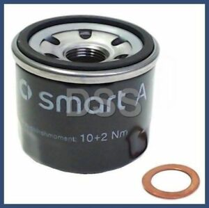 Image Is Loading Genuine Smart Car Engine Oil Filter W Drain