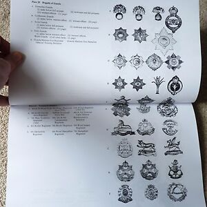 WW1-amp-WW2-750-British-Army-Cap-Badge-Collectors-Identification-Reference-Book