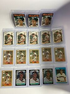 Will-Clark-Lot-Of-18-Cards-Topps-Donruss-Fleer-Topps-Traded-Rookies-Plus-2nd-Yr