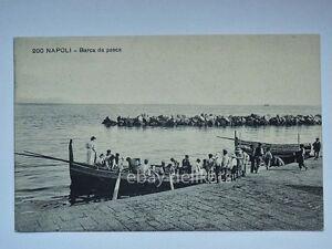 NAPOLI-barca-da-pesca-pescatori-vecchia-cartolina-200