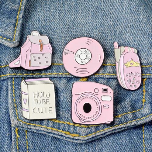 Enamel Brooch Sammlung von Staubsaugern Denim Jeans Badge Lapel Pins Badges