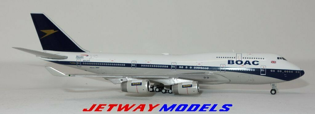 NEW 1:400 GEMINI JETS BRITISH AIRWAYS B 747-400 G-BYGC MODEL AIRPLANE GJBAW1838