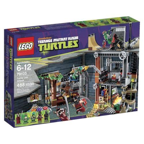 79103 LEGO Teenage Mutant Ninja Turtles Turtle Lair Attack