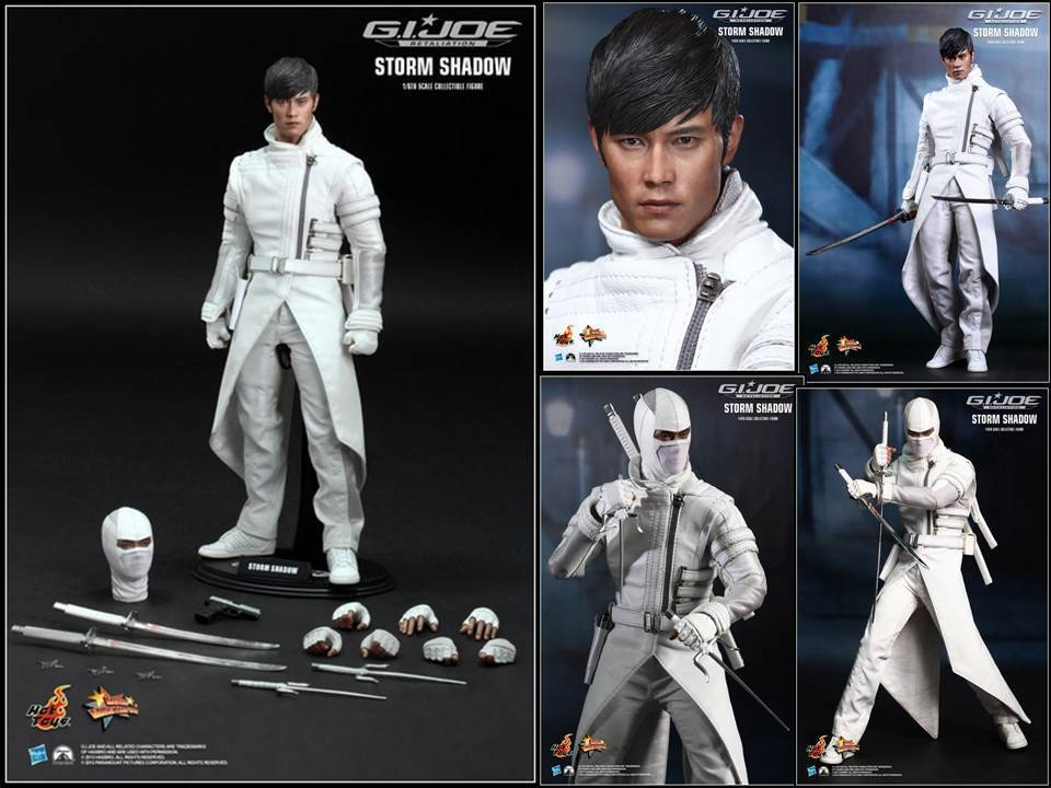 HOT TOYS  G.I. Joe Retaliation - Storm Shadow - Lee Byung Hun 1 6 Scale