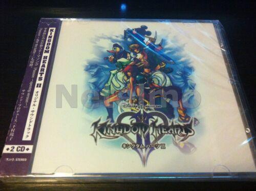 4 CD combo KINGDOM HEARTS I II 1 2 PS2 Original SOUNDTRACK Music Songs Game OST