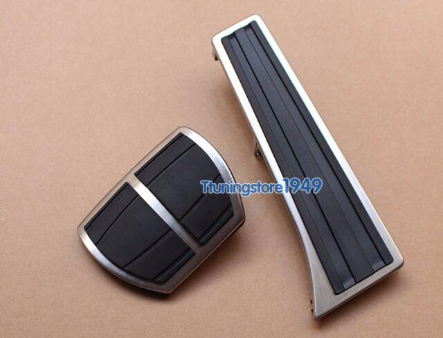 No drilling Fuel Brake Pedal Pad Covers M BMW 1 2 3 4 5 6 Series E92 F20 E90 F30