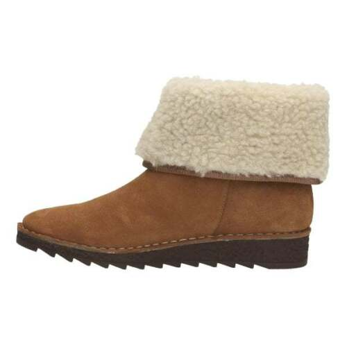 Beth 5 Ladies Bnib 39 Tan Clarks Suede Real Boots Wool Uk 5 Olso Ankle SP0w40q