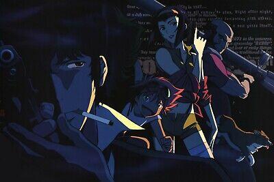 Spike Faye Ed Jet Cowboy Bebop HIGH QUALITY Poster Print Wall Decal Anime