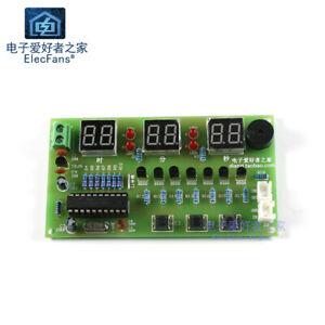 Need-weld-Nixie-Tube-Digital-Clock-Kit-AT89C2051-MCU-DIY-Electronic-LED