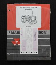 1978 84 Massey Ferguson Mf 220 2 220 4 Tractor Parts Catalog Manual Sealed Minty