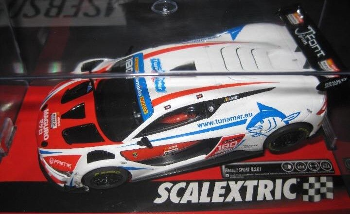 OFFER NOVELTY - A10224S300 - RENAULT SPORT MONLAU OF SCALEXTRIC 1 32 new