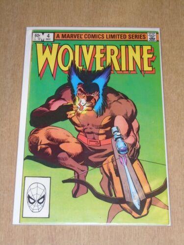 8.0 WOLVERINE #4 MARVEL COMICS DECEMBER 1982 VF