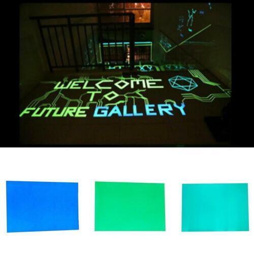 Glow In The Dark Sticker Self Adhesive Tape A4 Sheet Making Sign NEU Sticke O6Y9